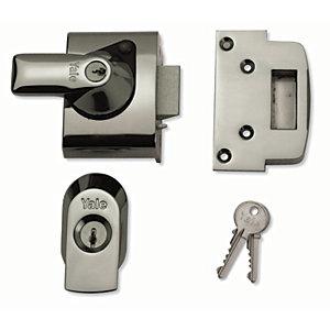Yale P-BS2-CH-CH-40 British Standard Nightlatch Lock - Chrome 40mm