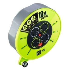 Masterplug 4 socket 13A Cable reel (L)10m