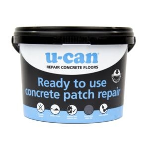 U-Can Ready to use Concrete patch repair 4kg Tub