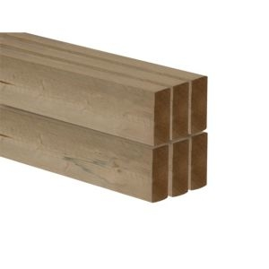 C16 CLS Timber (T)38mm (W)89mm (L)2400mm Pack of 6