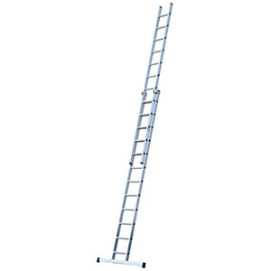 Werner 6.28m Pro 2 Section Aluminium Extension Ladder