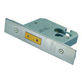 4FireDoors Door Deadlock - Stainless Steel 76mm